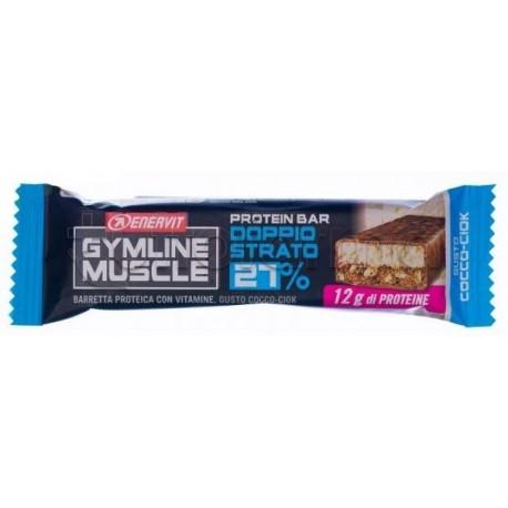 Enervit Gymline Barrette Cocco 27% Barrette Proteiche 45g