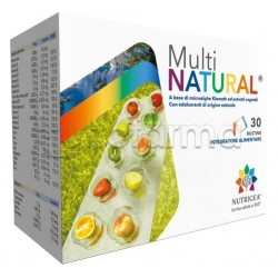 Nutrigea Multinatural Integratore Alimentare 30 Bustine
