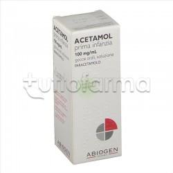 Acetamol Prima Infanzia Gocce Paracetamolo 100 mg