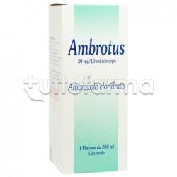 Ambrotus Sciroppo per Tosse e Catarro Flacone 200 ml
