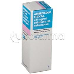 Ambroxolo Hexal Soluzione da Nebulizzare per Tosse e Catarro Flacone 100 ml