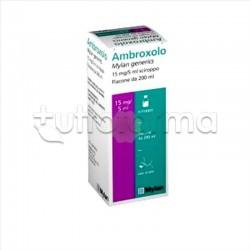 Ambroxolo MG per Tosse e Catarro Flacone 200 ml 15 mg/5 ml
