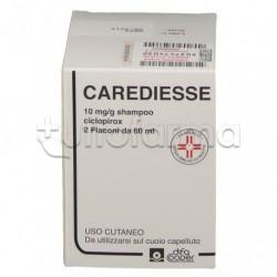 Carediesse Shampoo Per Dermatite Seborroica 2 Flaconi 60ml