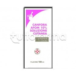 Canfora Afom 10 % Soluzione Oleosa 100 ml