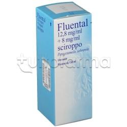 Fluental Sciroppo 150 ml 12,8 + 8 mg/ml per Febbre e Catarro