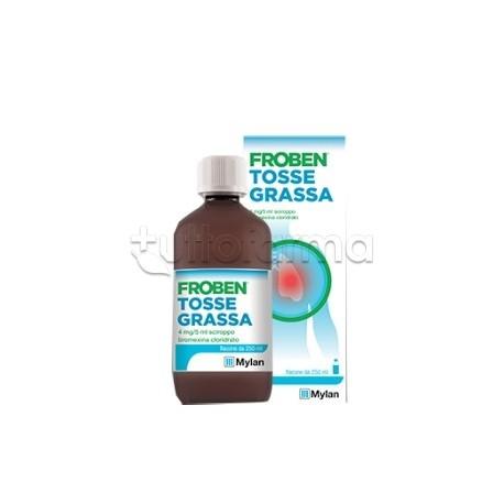 Froben Tosse Grassa Sciroppo 4 mg/5 ml 250 ml