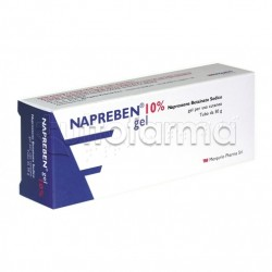Napreben Gel Antinfiammatorio ed Antidolorifico 50 gr 10%