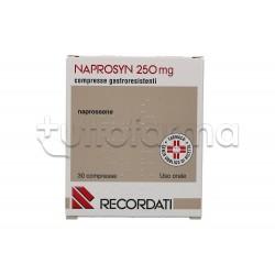 Naprosyn 30 Bustine 250 mg Antinfiammatorio