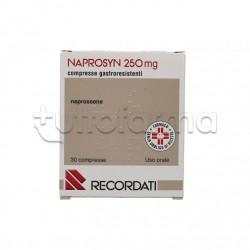 Naprosyn 30 compresse Gastroresistenti 250 mg Antinfiammatorio