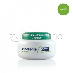 Somatoline Snellente 7 Notti Natural Trattamento Snellente Pelli Sensibili 400ml