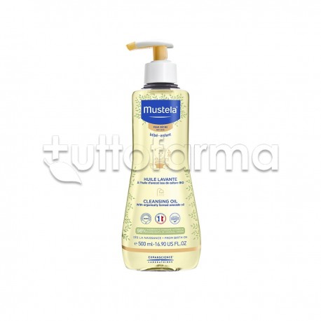 Mustela Olio da Bagno Detergente Neonati 200 Ml