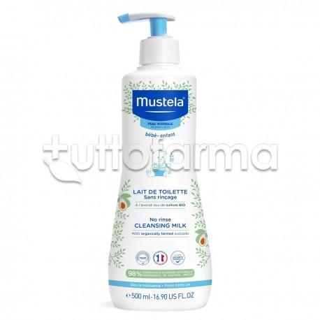 Mustela Latte di Toilette Detergente per Bebè Flacone da 200 ml