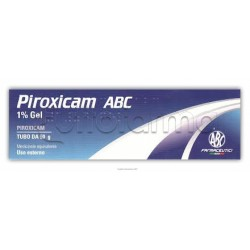 Piroxicam ABC Gel Antinfiammatorio e Antidolorifico 50 gr 1%