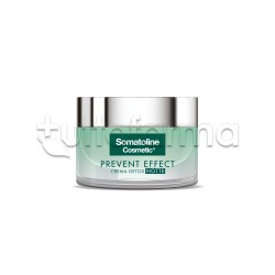 Somatoline Prevent Effect Crema Detox Notte Viso 50ml