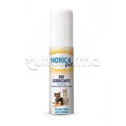 Norica Pet Deo Igienizzante Disinfettante per Cani e Gatti 100ml