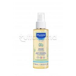 Mustela Olio da Massaggio Idratante Bebè Pelle Normale Spray 100 ml