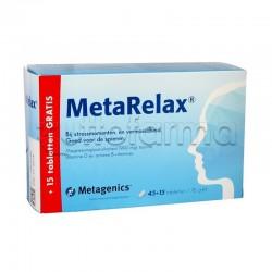 MetaRelax Integratore per Stress e Stanchezza 45 Compresse + 15 Compresse in Omaggio