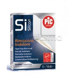 Pic Cerotto Post Operatorio Si Silicon Rimozione Indolore 10 x 8cm 5 Pezzi