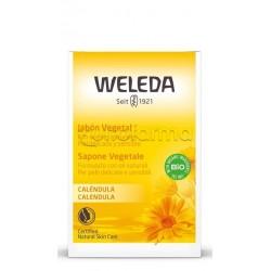 Weleda Sapone Vegetale Alla Calendula Detergente 100g