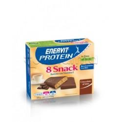 Enervit Protein Snack 8 Barrette Cioccolato 25 Gr