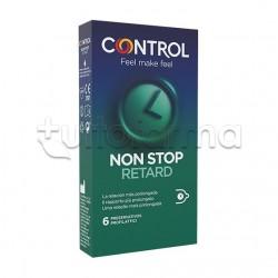 Control Profilattici Non Stop Retard Ritardanti 6 Pezzi