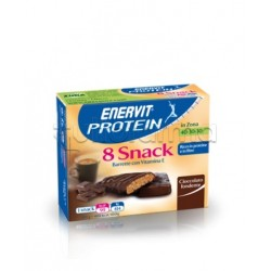 Enervit Protein Snack Cioccolato Soja 8 Barrette 27 Gr