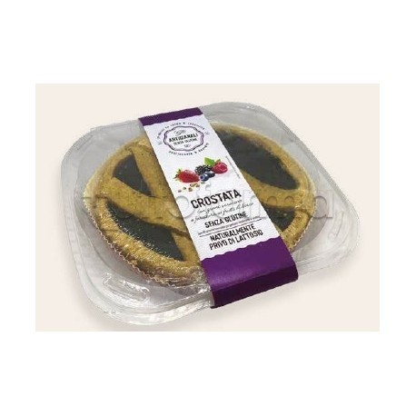 Nutrifree Crostata con Grano Saraceno e Marmellata di Frutti di Bosco 450g