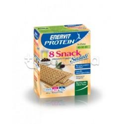 Enervit Protein Snack Salato Olive Nere 8 Pack 25 Gr