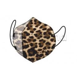 Mascherina My Mask Pro Respiratoria Filtrante FFP2 Certificata CE Fantasia Animalier 1 Mascherina