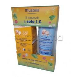 Mustela Latte Solare SPF50+ e Latte Doposole per Bambini 100ml + 125ml
