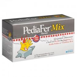 Pediafer Mix Integratore di Ferro per Bambini 10 Flaconcini