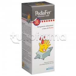 Pediafer Soluzione Orale Integratore di Ferro per Bambini 30ml