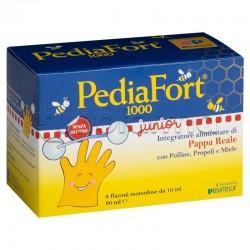 Pediafort 1000 Junior Integratore Ricostituente per Bambini 8 Flaconcini 10ml