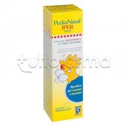 Pedianasal Iper Spray Nasale Ipertonico per Neonati e Bambini 100ml