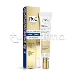 RoC Retinol Correxion Wrinkle Correct Crema Intensiva Notte 30ml