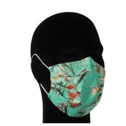 Mascherina Chirurgica per Adulti a Triplo Strato Fiore Tiffany- Confezione 10 Pezzi - 40 Centesimi a Mascherina
