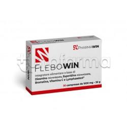 Pharmawin Flebowin Integratore per Circolazione Venosa 30 Compresse
