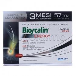Bioscalin Energy Integratore Anticaduta Capelli Uomo Formato Convenienza 90 Compresse