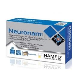 Named Neuronam Integratore per Benessere Mentale 30 Compresse