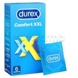 Durex Comfort XXL Extra Extra Large 6 Preservativi