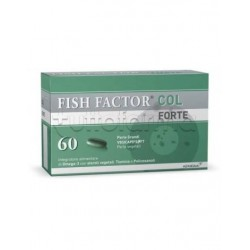 Fish Factor Col Forte Integratore per Colesterolo 60 Perle
