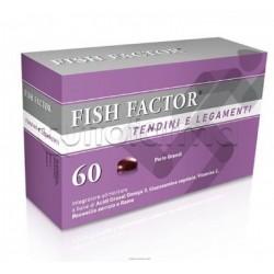 Fish Factor Tendini e Legamenti Integratori per Articolazioni Integratore 60 Perle