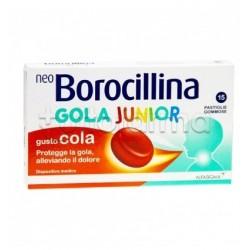 NeoBorocillina Gola Junior Gusto Cola 15 Pastiglie Gommose