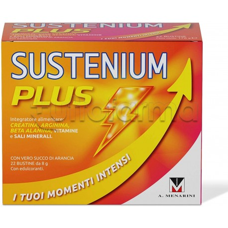 Menarini Sustenium Plus Intensive Formula Integratore Alimentare 22 Bustine