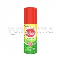 Autan Tropical Spray Repellente Insetti Spray 50ml