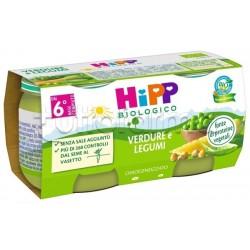 Hipp Biologico Omogeneizzato Verdure e Legumi 2 x 80g