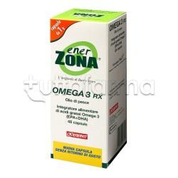 Enerzona Integratore Omega 3 RX 48 Capsule