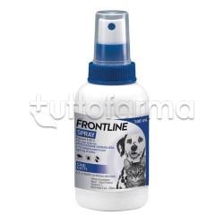 Frontline Spray Antiparassitario Veterinario per Cani e Gatti 100ml