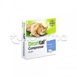 Drontal Farmaco Veterinario Infestazioni Parassitarie dei Gatti 2 Compresse