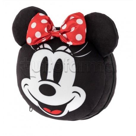 Disney Dormi Comodo Cuscino con Mascherina per gli Occhi per Bambini Modello Minnie 1 Pezzo